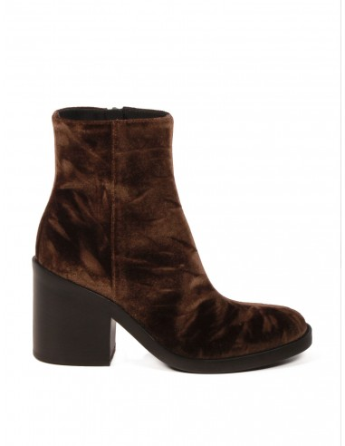 Boots à talons en velours velours velours marron Ann Demeulemeester pour Femme 26c1f0