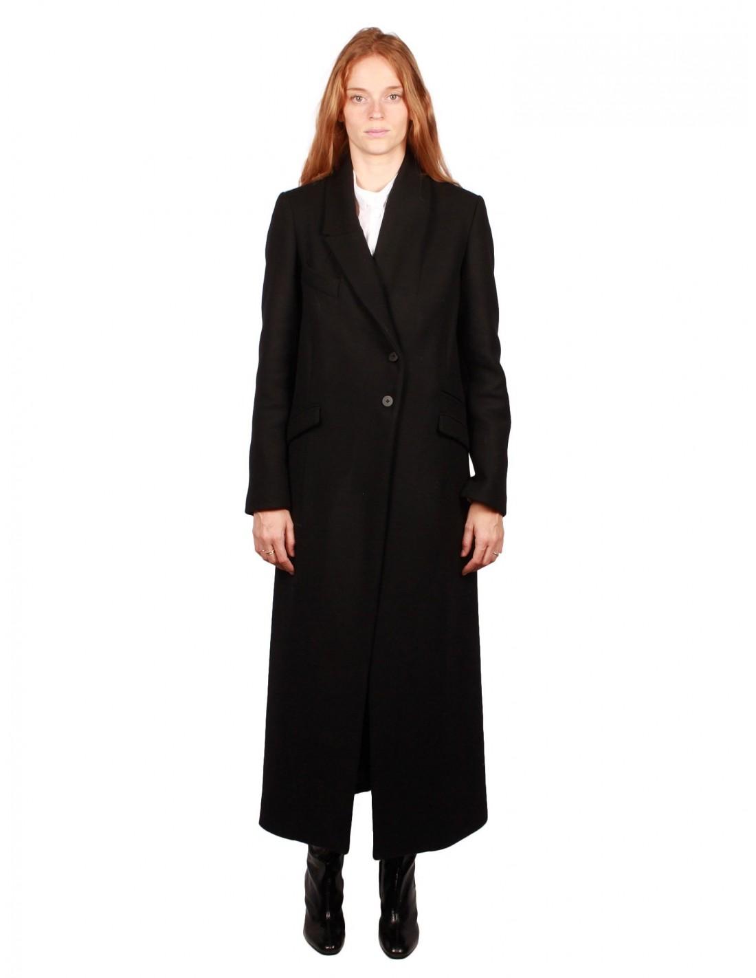 Noire Long Noir Pour Serie Manteau Femme Benenato Isabel HzqaHx