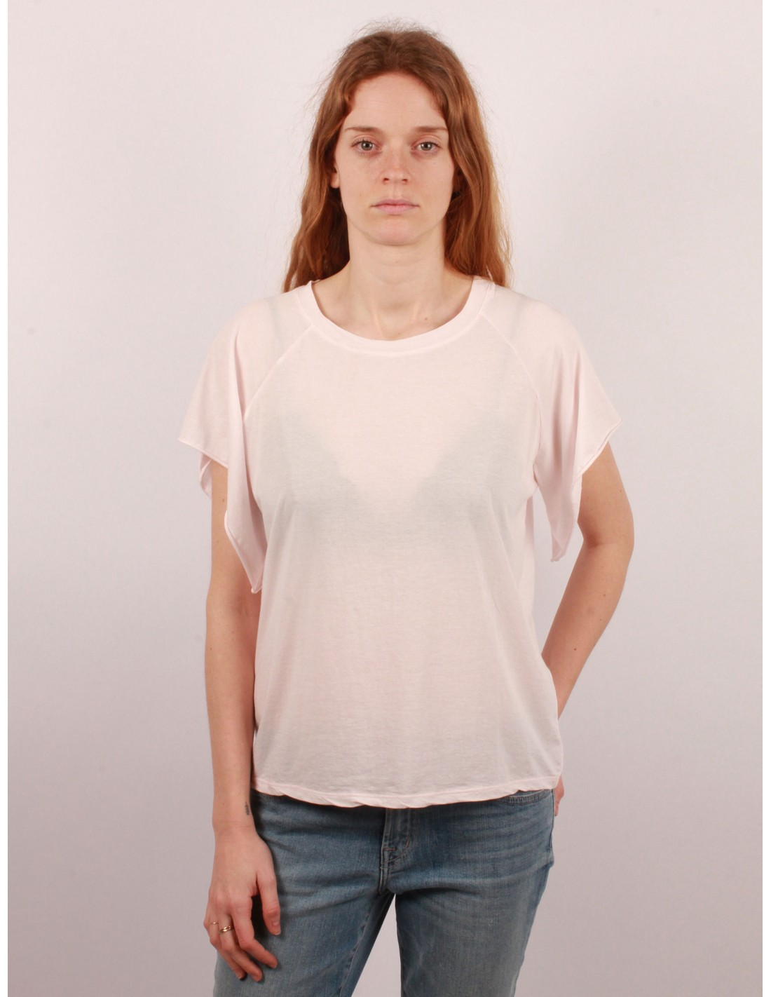 shirt large en coton edge pour femme serie