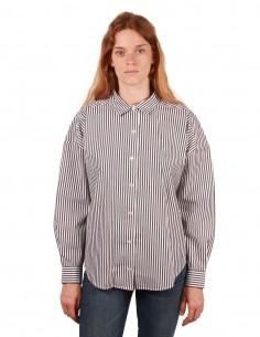 frame Chemise rayée à nouer en coton
