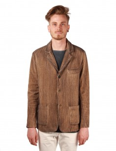avant toi Corduroy brown jacket in cashmere
