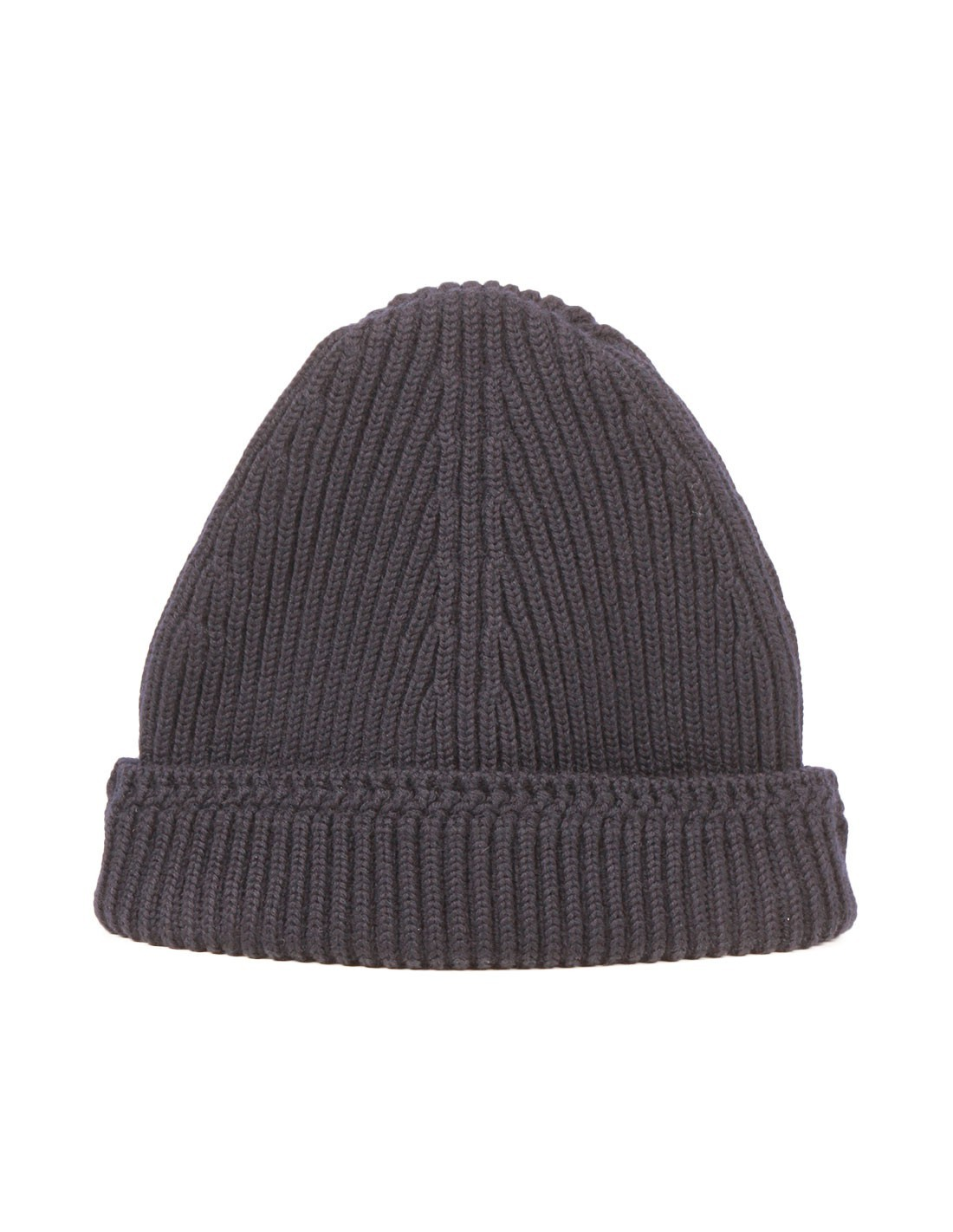 c4f23e47c82 ... Maison Margiela · Beanie in navy wool with Margiela stitches. New