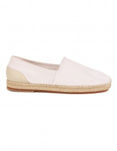 MAISON MARGIELA tabi espadrilles in white canvas