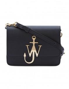 Mini sac à main en cuir JW ANDERSON noir