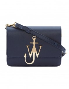 "Navy and gold anchor ""logo bag"""
