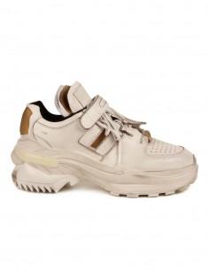 """MAISON MARGIELA """"Retro fit"""" white sneakers"""