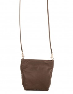 "RICK OWENS ""SMALL ADRI"" purse bag in dust leather"