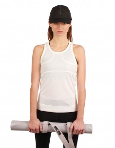 Adidas x Stella McCartney tank top made in white cotton