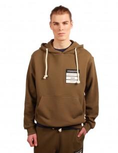 "MAISON MARGIELA ""STEREOTYPE"" hoodie in khaki"