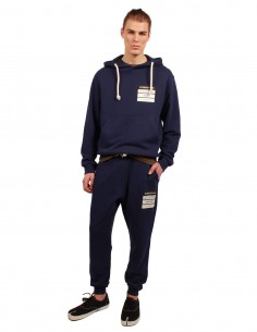 "MAISON MARGIELA ""Stereotype"" navy jogging pants SS19"