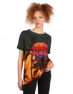 "BALMAIN ""Balmain Beach Club"" tropical tee"