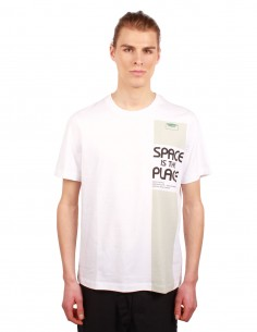 "Tee-shirt OAMC ""Space is the Place "" blanc"