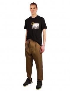 Pantalon kaki OAMC avec ceinture intégrée
