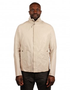 """ISAAC SELLAM """"DISSIDENT-MARBRE"""" leather jacket"""