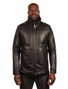 "ISAAC SELLAM ""VIGOUREUX-VACHKIRI"" padded black jacket for men"
