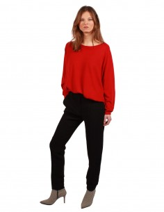 BARBARA BUI Masculine fitted black pants