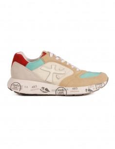 """PREMIATA WHITE """"ZAC-ZAC"""" tricolor sneakers for women"""