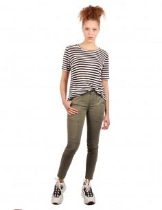 J BRAND Skinny utility khaki trousers