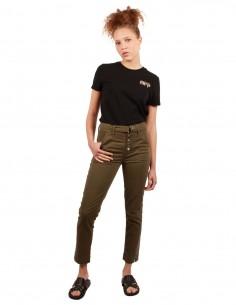 J BRAND Kyrah high-waist jeans in khaki