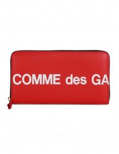 """Compagnon avec logo """"Comme des garçons"""" - Rouge COMME DES GARCONS WALLET"""