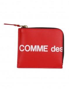 Petit Porte-monnaie zippé - Rouge COMME DES GARCONS WALLET