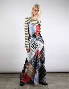 ganni robe longue soie été