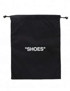 Sac noir OFF-WHITE pour chaussures