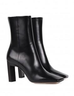 Boots noires WANDLER à talon et bout carré