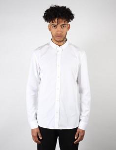 Chemise BALMAIN Paris classique blanche à col piqué