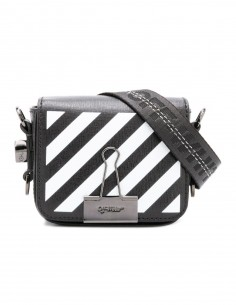 sac-off-white-blanc-white-rayée-rayure-black-noir-bag
