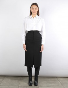 black midi skirt AMI woman