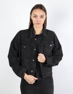 RYDER oversized grey denim jacket BOYISH woman