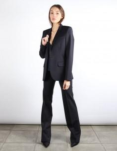 BUI veste blazer noire fermeture 1 bouton