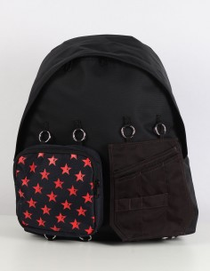 RAF SIMONS x EASTPAK Padded Doubl'r red star backpack