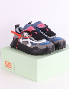 "OFF-WHITE ""ODSY"" blue sneakers"