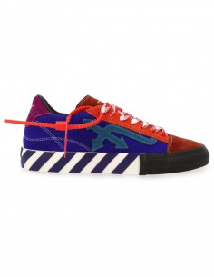 "Off-White ""New Arrow low vulcanized"" multicolor sneakers"