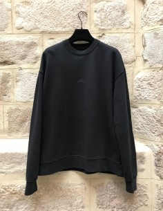 A-COLD-WALL black oversized sweater with logo on back