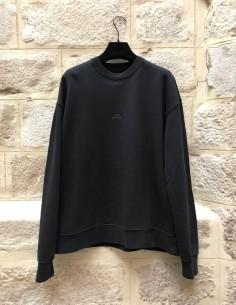 Sweat oversize noir logo A-COLD-WALL