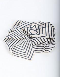 TOTEME Venezia ecru silk scarf