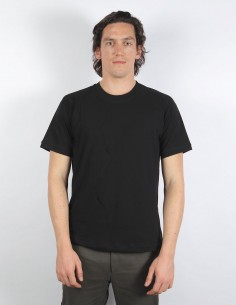T-shirt noir avec découpe isabel benenato homme