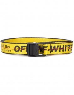 Industrial OFF-WHITE yellow mini belt