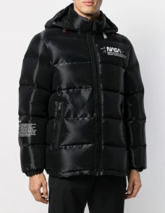 "HERON PRESTON ""Nasa"" black down jacket"