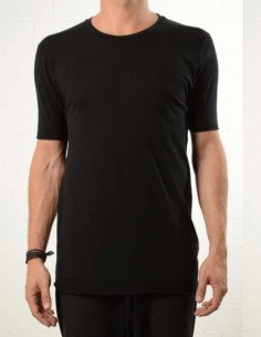 Black tee made in terry cloth thom krom