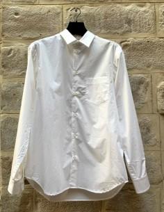 Chemise blanche de coupe classique isabel benenato pour homme