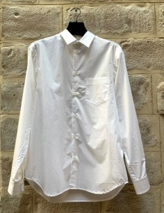 White classic shirt isabel benenato for men