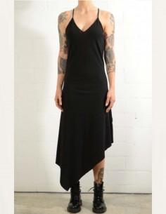 thom krom Black dress with straps on back