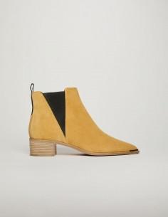 acne studios Boots Jensen en cuir suede beige