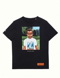 "T-shirt ""Baby Heron"" HERON PRESTON black short sleeve"