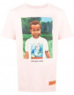 T-shirt baby heron rose HERON PRESTON