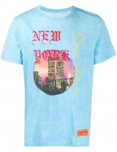 T-shirt skykine manches courtes bleu